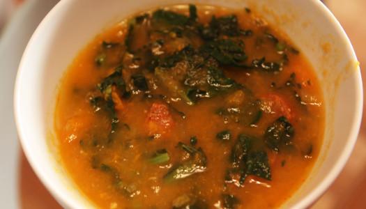 Caldo Verde (Portuguese Kale Soup) – Paleo Version