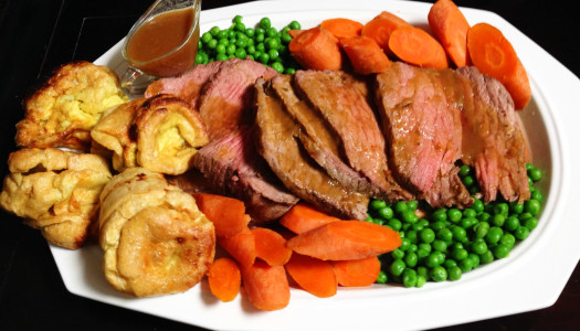 English Roast and Yorkshire Pudding (Paleo)