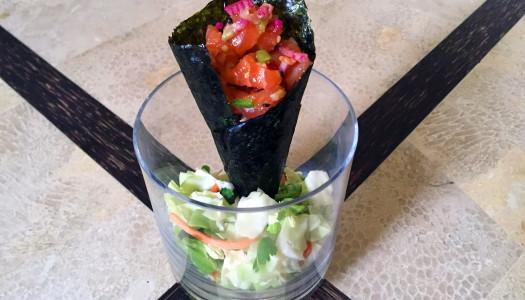 Paleo Sushi Handroll