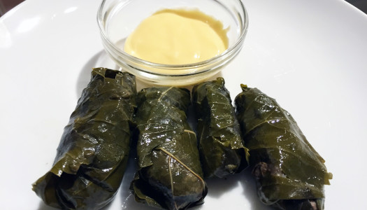 Dolmathes – Paleo Stuffed Grape Leaves